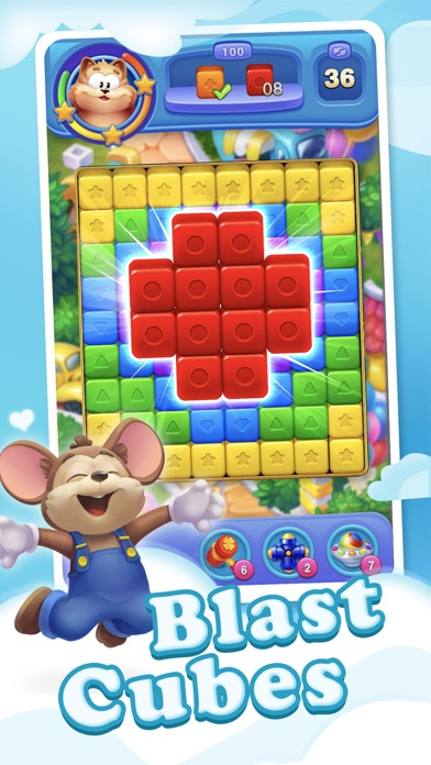 Blast Fever - Solve Puzzles screenshot 1