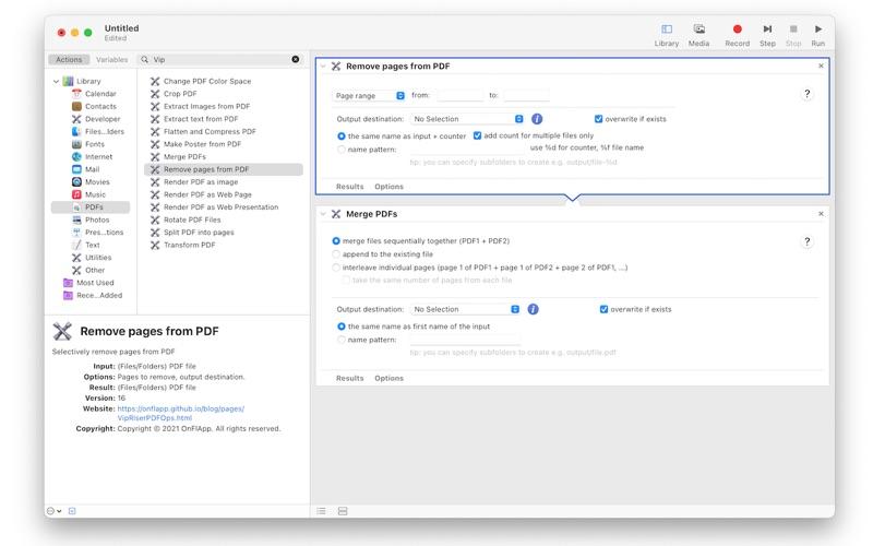 VipRiser PDF Ops