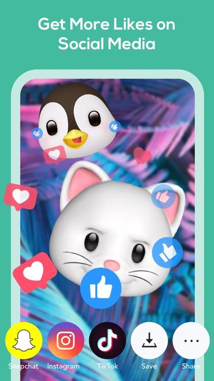 Livemoji-3D Face Emoji Games screenshot-5