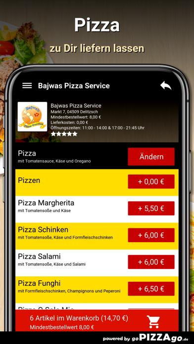 Bajwas Pizza Service Delitzsch screenshot 5