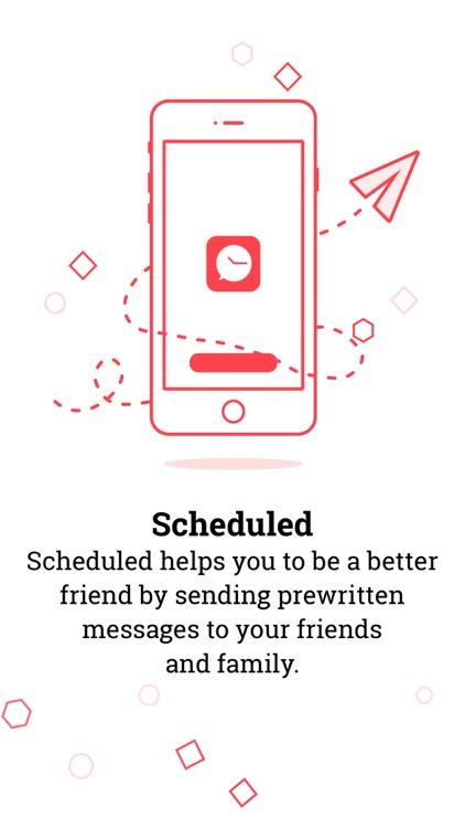Scheduled App