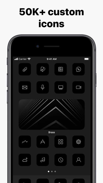 Brass - Custom Icons & Widgets screenshot-3