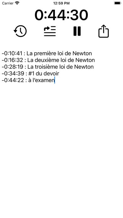 Timenote - study organizer screenshot 8