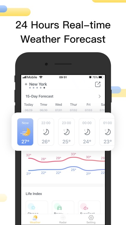 Weather RadarPro-Tracker&Storm screenshot-3