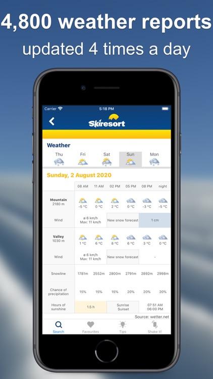 Skiresort.info – ski app screenshot-4
