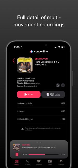 Klassische Musik App