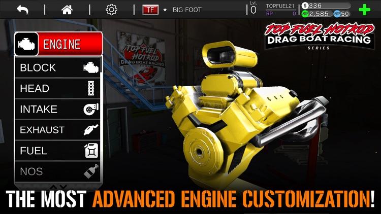 Drag Racing Boat Game - HotRod screenshot-3