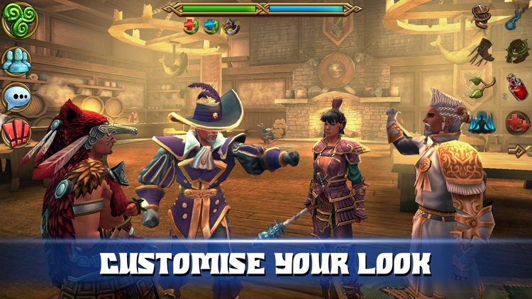 Celtic Heroes 3D MMO screenshot-3