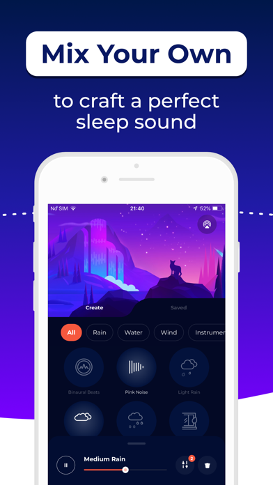 Sleepiest Sleep Sounds Stories Screenshot