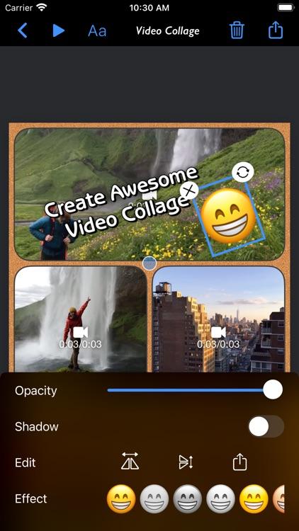 Video Collage - Stitch Videos screenshot-6