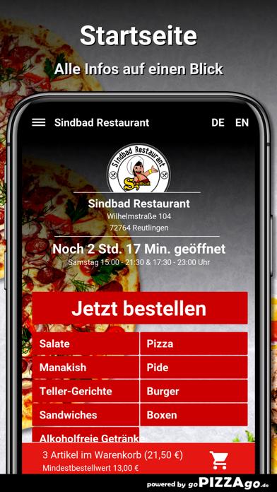 Sindbad Restaurant Reutlingen screenshot 5