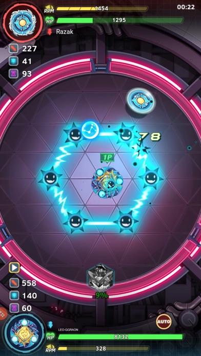 Spiral Warrior Screenshot on iOS