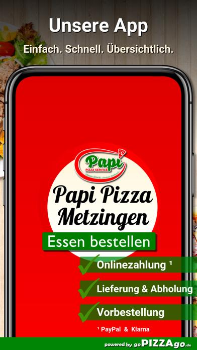 Papi Pizza Service Metzingen screenshot 1