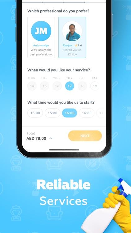 Justmop: Home Services screenshot-4