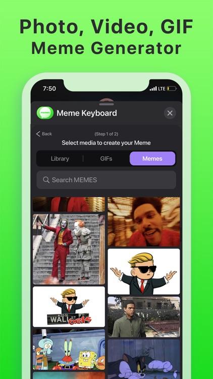 Meme Keyboard GIF Memes Maker screenshot-4