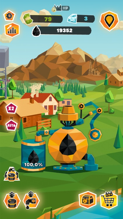 Oil Tycoon: Idle Miner Factory screenshot-0