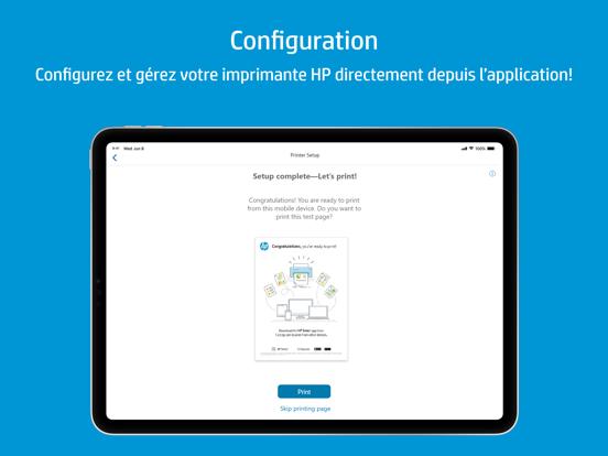 HP Smart iPad captures décran