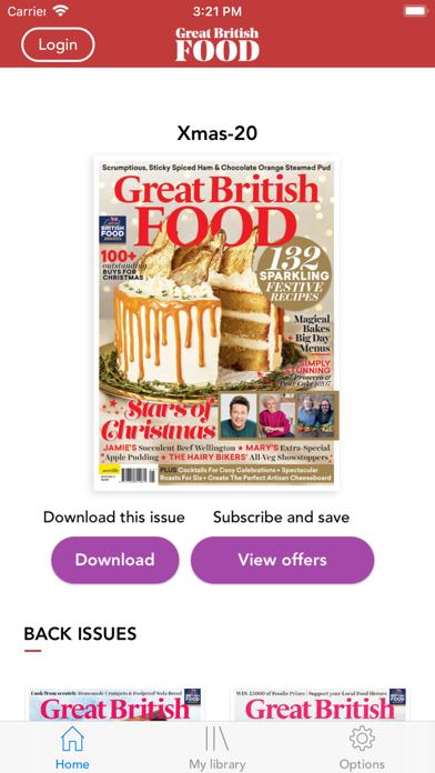 Great British Food MagazineScreenshot of 1