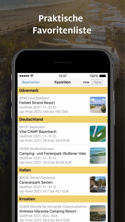 ADAC Camping / Stellplatz 2021 screenshot-5