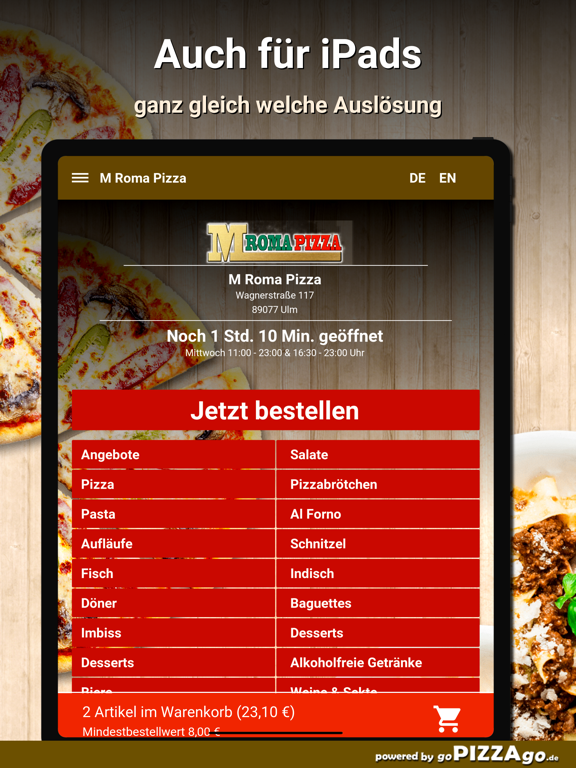 M Roma Pizza Ulm screenshot 7