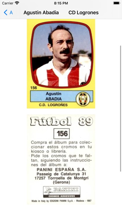 Soccer trading cards PRO