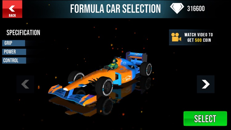 Superhero Formula Racing Cars