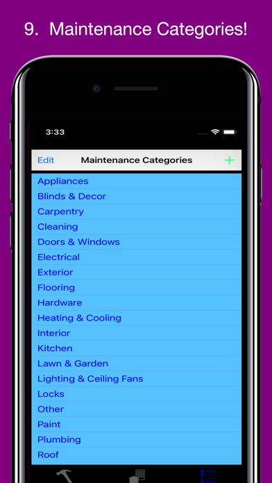 Tarpley's Maintenance Tracker屏幕截图9