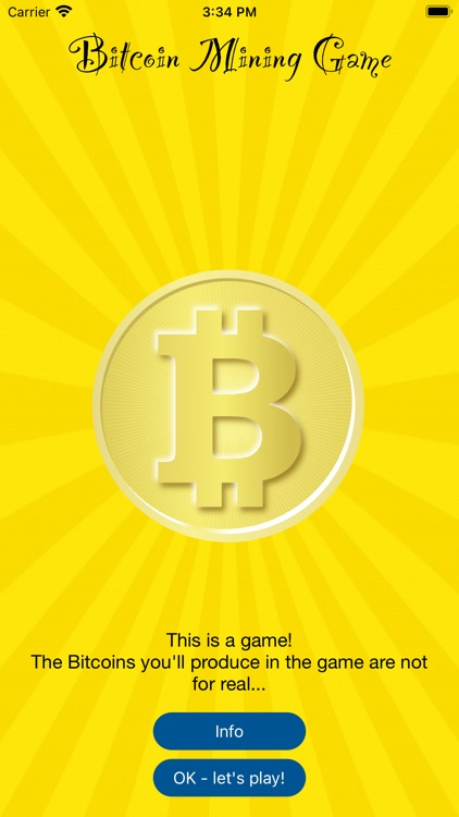 Bitcoin Mining Game screenshot-0