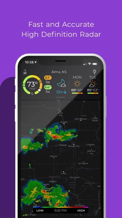 MyRadar Weather Radar screenshot-0