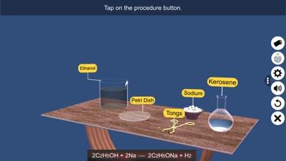 Reaction: Sodium with Ethanol screenshot 4