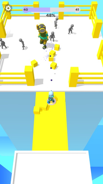 Paintman 3D - Stickman shooter screenshot-4