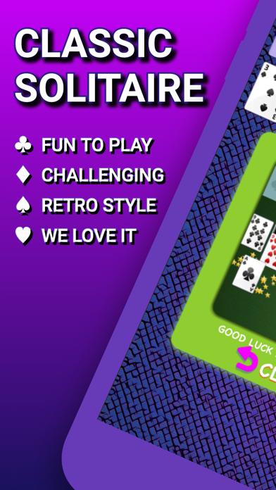 クラシックソリティア2021:シンプルなカードゲーム広告なし紹介画像1