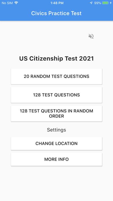U.S. Citizenship Test 2021 screenshot 1
