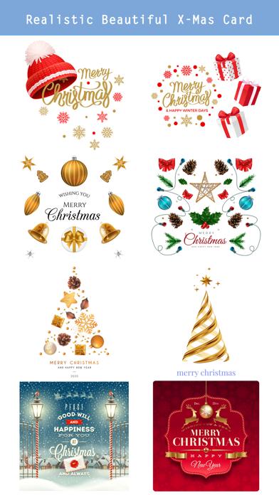 Realistic Christmas Stickers screenshot 3