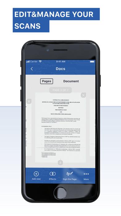 Приложение сканера - FreeScanСкриншоты 4
