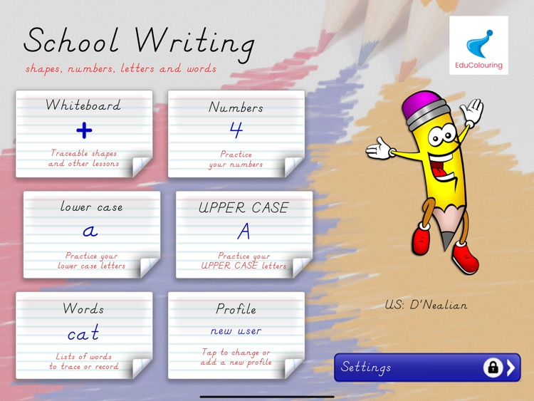 School Writing - learn the abc screenshot-5
