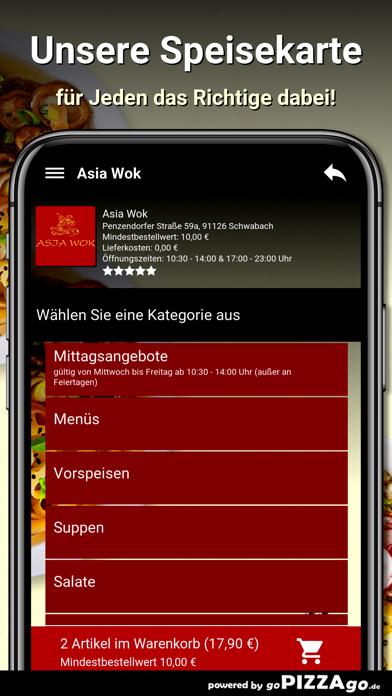 Asia Wok Schwabach screenshot 4
