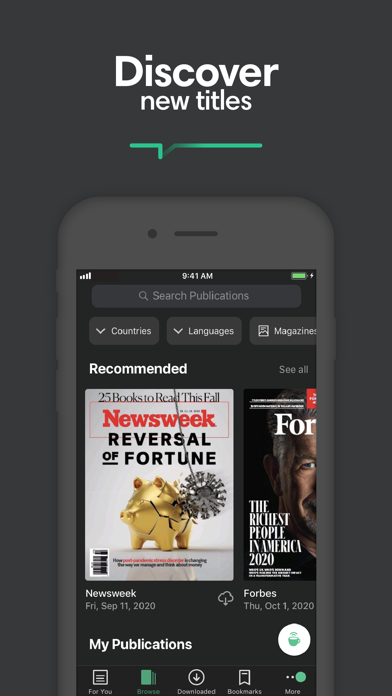 PressReader: News & Magazines Screenshot
