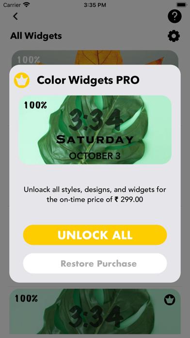 Widgets Mojo Pro screenshot 6