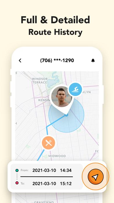 GPS Location Tracker: Hooter Screenshot
