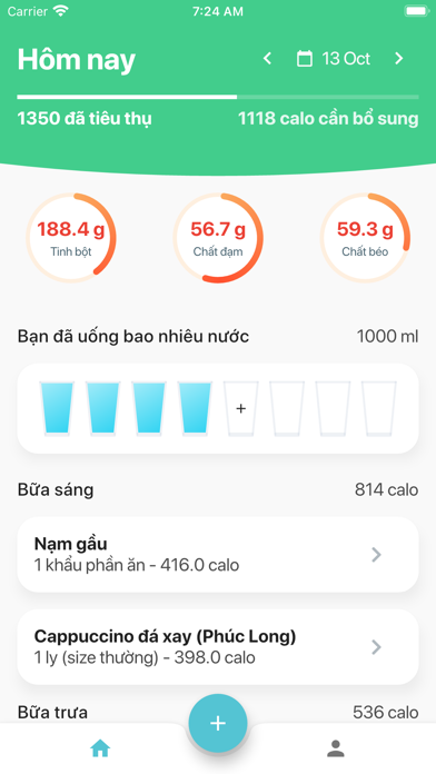 Calo,BMR,TDEE, Hỗ trợ Eatclean Screenshot