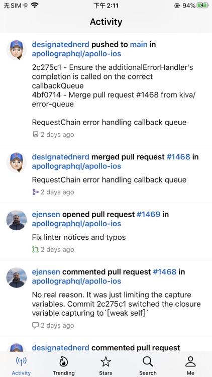 GeekHub for GitHub screenshot-8