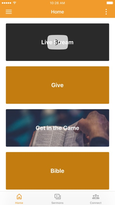 Calvary Orlando App Screenshot