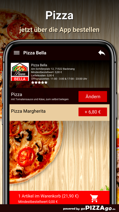 Pizza Bella Backnang screenshot 5