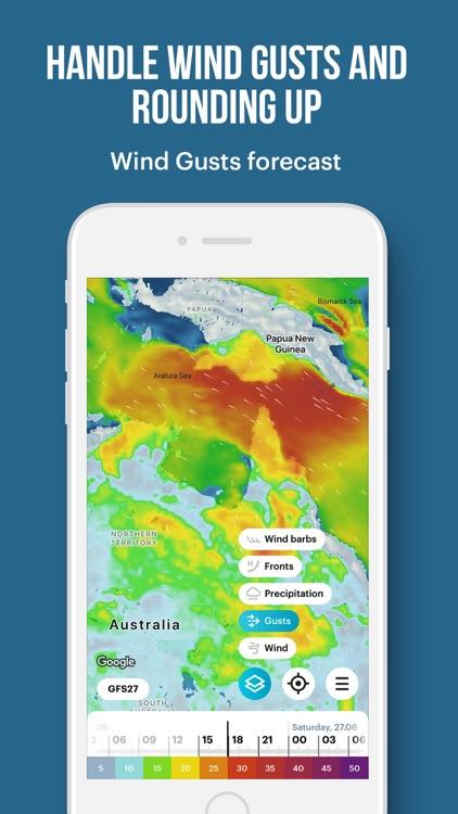 WindHub: forecast for sailing screenshot-6