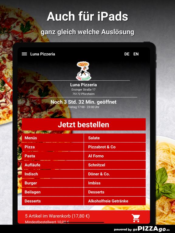 Luna Pizzeria Pforzheim screenshot 7