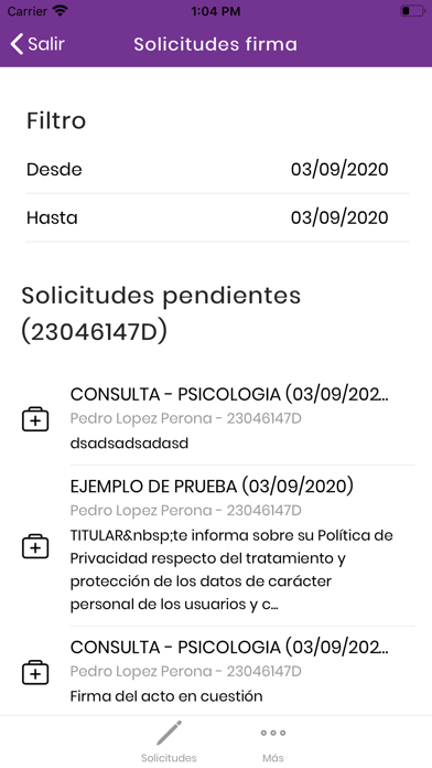 Clinicalges Gestión Firma screenshot 3