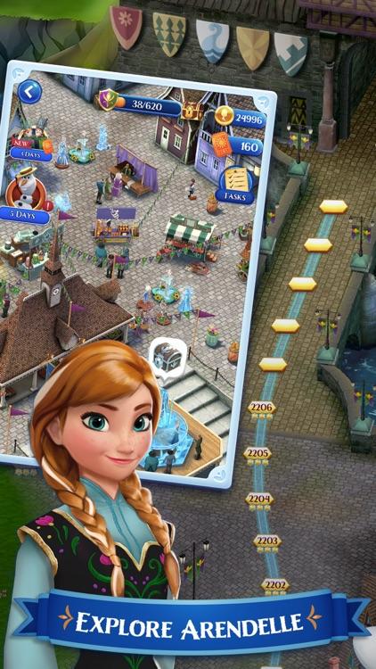 Disney Frozen Free Fall Game screenshot-3