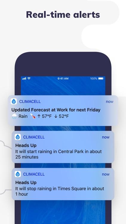 Forecast & Radar by ClimaCell screenshot-3