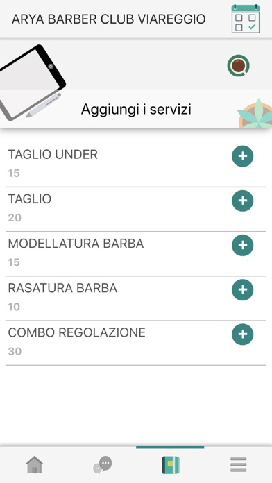 Arya Barber Club Viareggio Screenshot